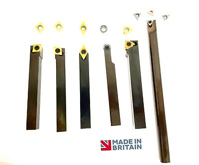 *NEW SPECIAL* Complete 12mm Lathe Tooling Set British Made Quality Tools