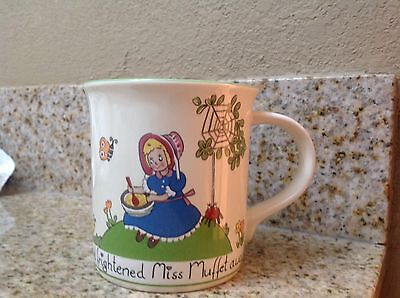 Mikasa Little Miss Muffet Mug Collectible