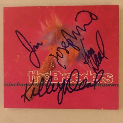 The Breeders Divine Hammer Signed Autograph Cd X 4 Complete