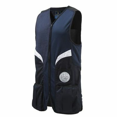 Beretta GT112 Stretch Shooting Vest In Navy Blue