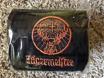 Jagermeister Jager Wrist Sweat Bands LOT of 6 BRAND NEW SEALED