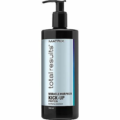 Matrix Total Results Miracle Morpher Kick Up Protein Bodifying Treatment 500ml