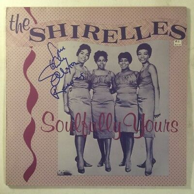 The Shirelles Soulfully Yours Signed Autograph Album
