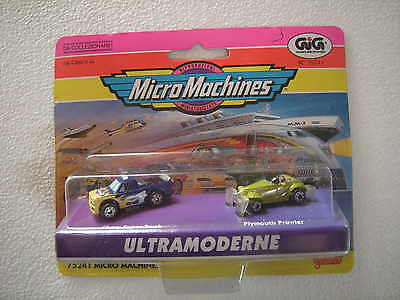 Gig - Micro Machines -  Ultramoderne Chevy Super Truck E Plymouth Prowler