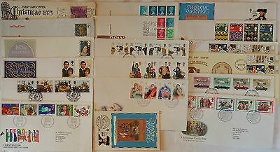 GB FDCs Collection 1975-1982, 19 covers