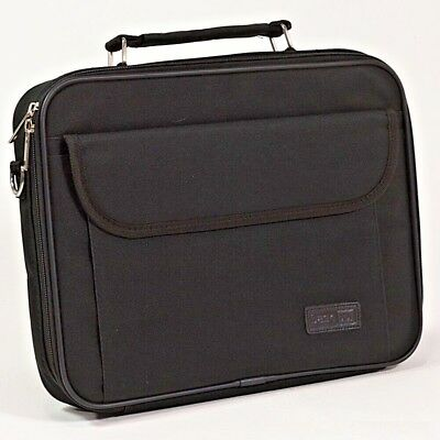 "Dicota Laptop Carry Case Netbook Tablet Notebook Padded Shoulder Bag 12.1"" Black"