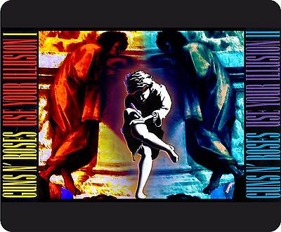 Guns N Roses Use Your Illusion Collage Full Colour Mousemat
