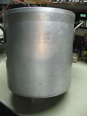 WEAR  EVER  STOCK  POT No. 4252  COMMERCIAL 25 QTS. VINTAGE  SUPER