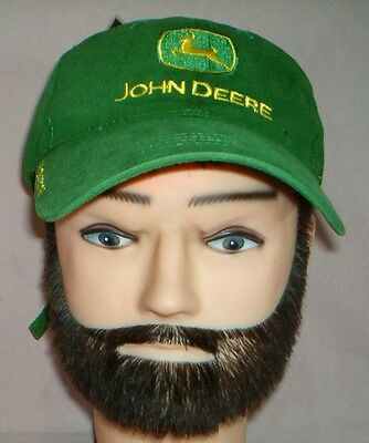 Rare JOHN DEERE - GREEN - CAP - Embroidered Logo Hat - High Quality -NEW w/ TAGS