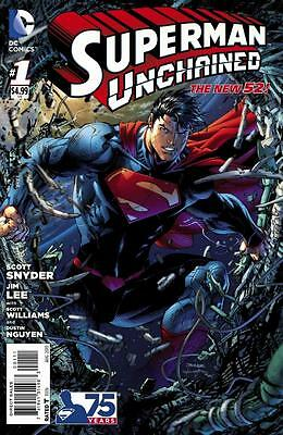 Superman Unchained #1A, NM 9.4, 1st Print, 2013, Unlimited Shipping Same Cost