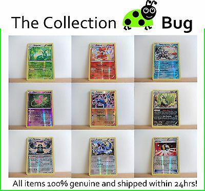 Pokemon XY Fates Collide Pick From List : Parallel Foil Reverse Holo Cards 1-115