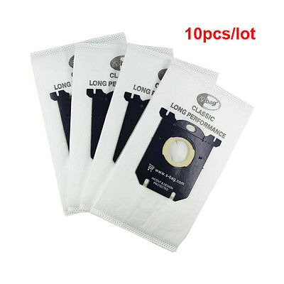 10 pcs Sbag for Electrolux E201B Philips FC8021 Dust S-bag GR201 AEG Bags