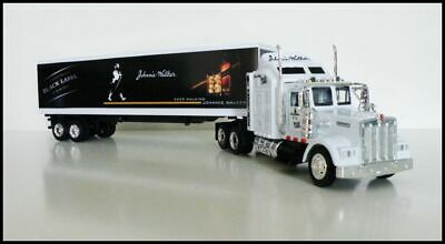 KENWORTH W900 Semi Trailer 1/43 Trucks  Diecast Johnnie Walker  Custom Graphics