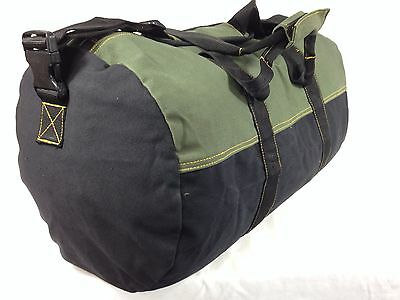 "Canvas Duffle Bag Canvas Duffel Bag 24"" Travel Luggage Cabella Cabela Camping"