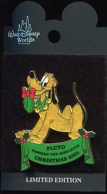 WDW Night Before Christmas 2001 Pluto LE Disney Pin 8782
