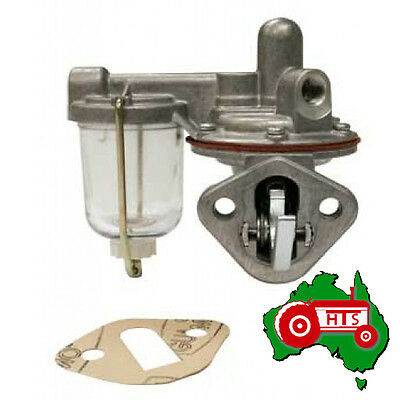 Tractor Fuel Lift Pump with Glass Bowl Massey Ferguson 65 165 AD4-203 Eng MF50