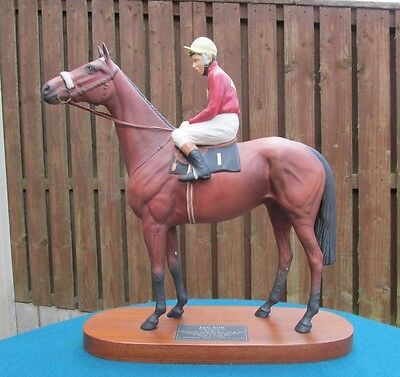 Rare Beswick Figure Of Red Rum With Brian Fletcher Up 2511 - Perfect!