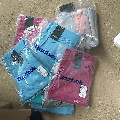 Wholesale job lot Girls Reebok Hoodie Jogging Bottoms Aged 12 BNWT Reduced Price