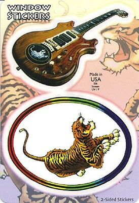 Grateful Dead Sticker Jerry Garcia Tiger Guitar Alembic Doug Irwin Decal