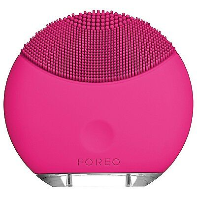 Foreo Luna Mini MAGENTA T-Sonic Facial Cleansing Integrated Battery NEW