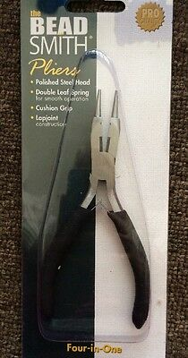 Four-in-one Pliers By Beadsmith - Foam Handle - Free Post