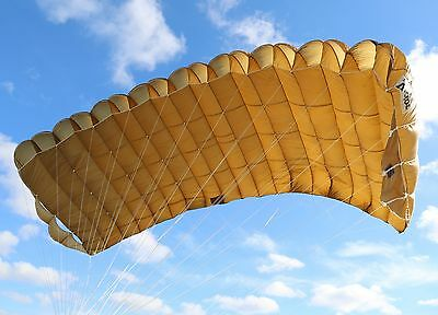 Vector 360 (VR360) tandem skydiving reserve parachute canopy Performance Designs