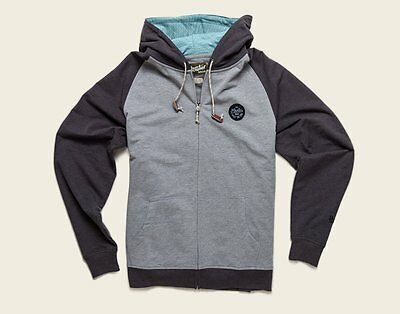 Howler Brothers Peacemaker Hoodie ~ Shimmer Grey/Black NEW ~ Medium ~ CLOSEOUT