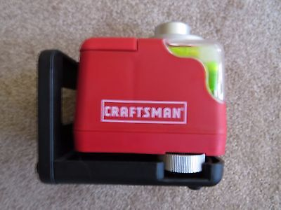 Craftsman 360° Rotating Laser Leveling System with LASERTRAC  #948249 (Tested)
