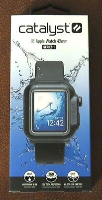 Catalyst Case for 42mm Apple Watch Series 1 (Black) BRAND NEW FREE SHIPPING!!