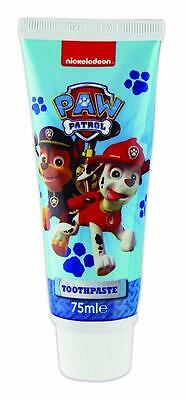 ** 4 X Paw Patrol Toothpaste 75Ml New ** Kids Tooth Paste Nickelodeon