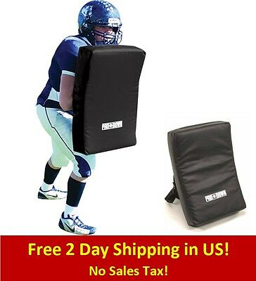 Football Blocking Shield Dummy Pad Collegiate Hitting Blocking Practice Training