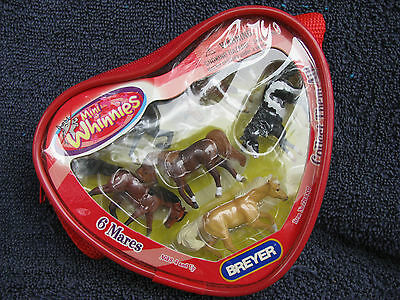 Breyer Mini Whinnies MW Mares Set NRFB - Excellent!