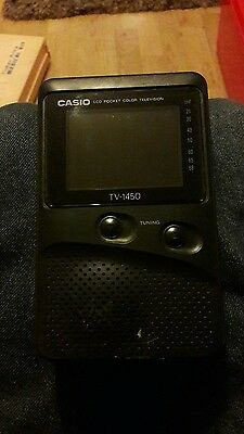 CASIO COLOUR TV 1450 Pocket LCD TV