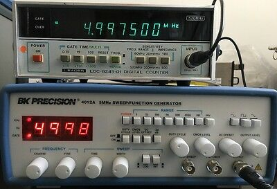 Leader 520 MHz Digital Counter LCD-824S-01