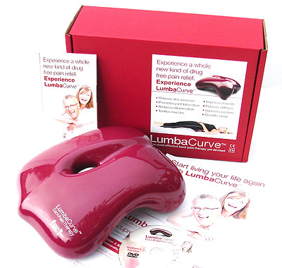LumbaCurve - No1 Lower Back Pain Relief - Clinically Proven - Bad Back Sciatica
