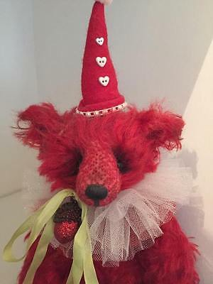 Artist Bear Sixpence one of a kind Mohair Samantha-Jane Bear