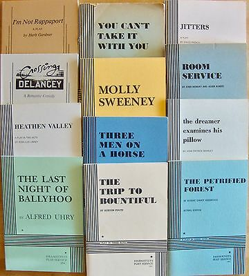 Samuel French And Dramatists Acting Edition Play Scripts Lot Of 12