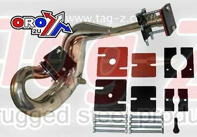 TAG 2-stroke exhaust pipe repair kit / Yamaha YZ 125 250 490 / dent removal kit
