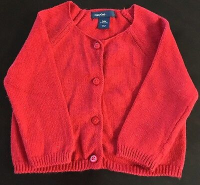 2b346bb6c BABY GAP  KIDS Girls Ivory Cable Knit Cardigan Button Up Sweater 4 ...