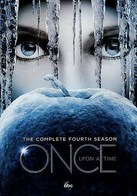 Once Upon a Time: The Complete Fourth Season 4 (DVD, 2015) Brand New and Sealed!