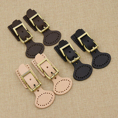 Womens Leather Bag Clasp Button Buckle Tuck Lock Closure Decor Accessories New