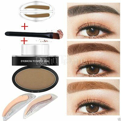 Natural Eyebrow Powder Brow Stamp Palette Delicate Shadow Definition JUST Makeup