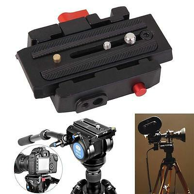 Quick Release Plate Adapter P200 for Manfrotto 501 500AH 701HDV 503HDV Q5 Hot YA