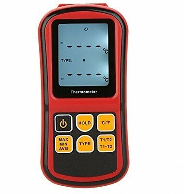 KKmoon GM1312 Digital Thermometer Dual-channel Temperature Meter Tester For LCD