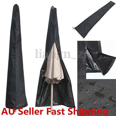 Waterproof Patio Outdoor Umbrella Protective Canopy Cover Bag fit 6ft to 11ft