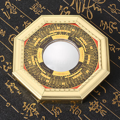 DZ1203 Feng Shui Chinese Era House Geomantic I-Ching Bagua Convex Mirror Solar