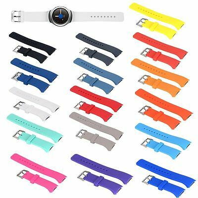 Silicone Sport Band Strap For Samsung Gear S2 Watch Replacement Wrist Bracelet