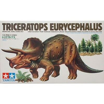 Tamiya 60201 1/35 Scale Triceratops Eurycephalus from Japan