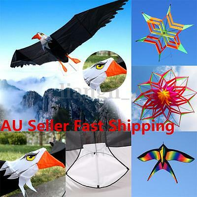 Easy Flying 3D Animal Flower Kite Single Line Outdoor Children Kids Sport Toys