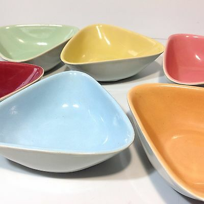 Vintage Retro Mid Century Langley / Lovettes Pottery Bowls (unmarked)